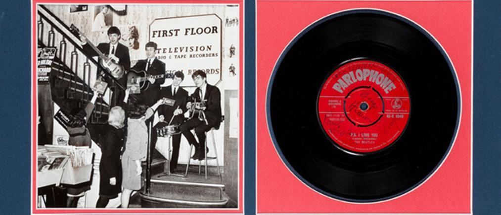 """Στο """"σφυρί"""" το πρώτο δισκογραφικό συμβόλαιο των Beatles"""