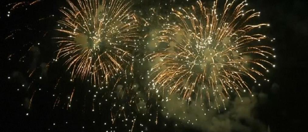Εντυπωσιακό σόου πυροτεχνημάτων στη Γενεύη (βίντεο)
