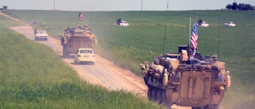 Ο στρατός των ΗΠΑ άρχισε να αποσύρει μέρος του υλικού του από τη Συρία