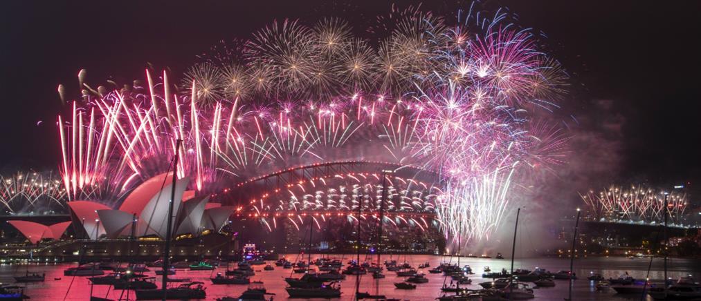 Πρωτοχρονιά στο Σίδνεϊ: Εντυπωσιακά πυροτεχνήματα για τον ερχομό του 2021 (βίντεο)