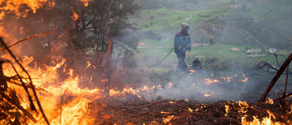 Κόλαση φωτιάς στην Ισπανία (βίντεο)