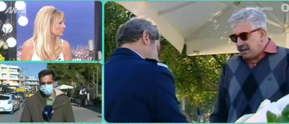 Πέτρος Φιλιππίδης: Τα νεότερα για την κατάσταση της υγείας του (βίντεο)