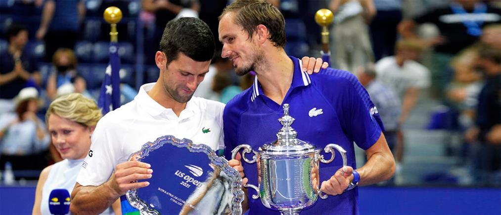 "US Open: Ο Μεντβέντεφ ""ισοπέδωσε"" τον Τζόκοβιτς (βίντεο)"