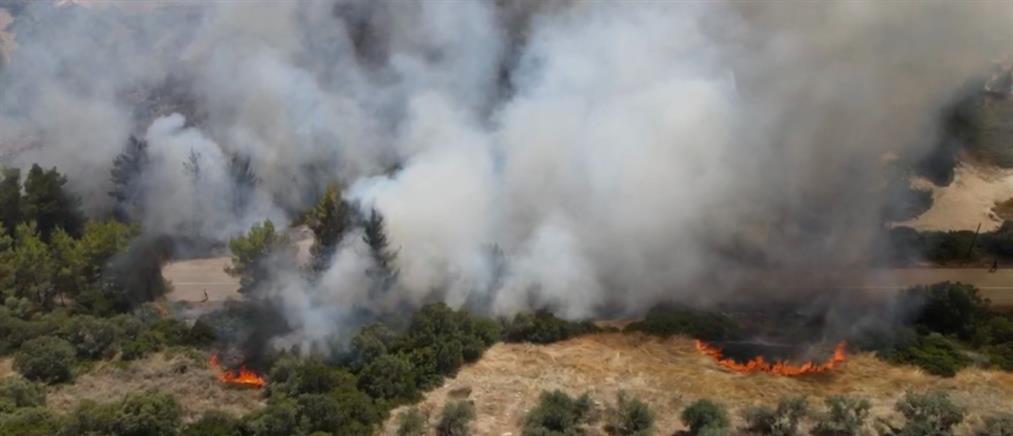 """Φωτιές στον Θεολόγο - Δικηγόρος 14χρονου στον ΑΝΤ1: """"Άνθρακες ο θησαυρός"""""""