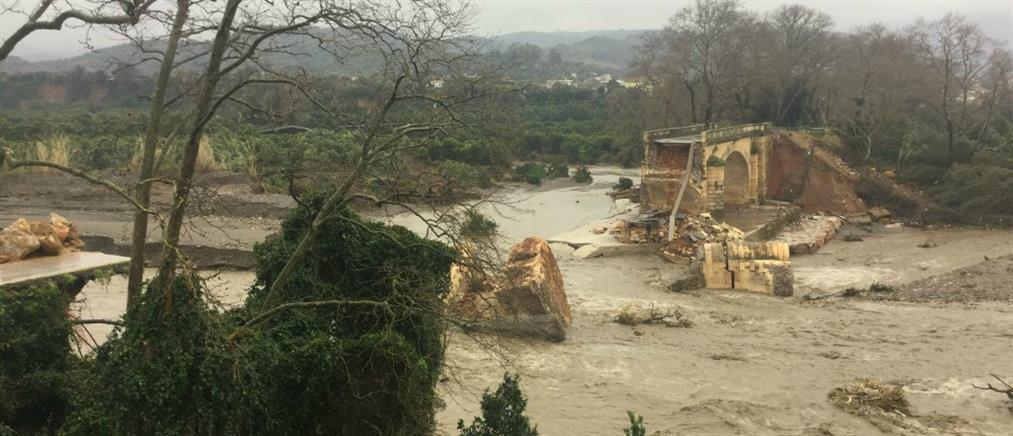 Ευρωπαϊκή βοήθεια για τις ζημιές από την θεομηνία στην Κρήτη