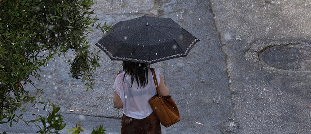 Καιρός: συννεφιές με τοπικές βροχές την Τρίτη