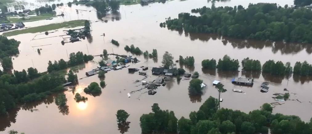 Βυθισμένη από τις πλημμύρες η Σιβηρία (βίντεο)