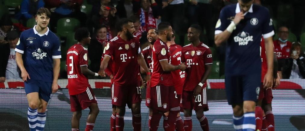 Κύπελλο Γερμανίας: Η Μπάγερν Μονάχου έβαλε μια ντουζίνα γκολ!