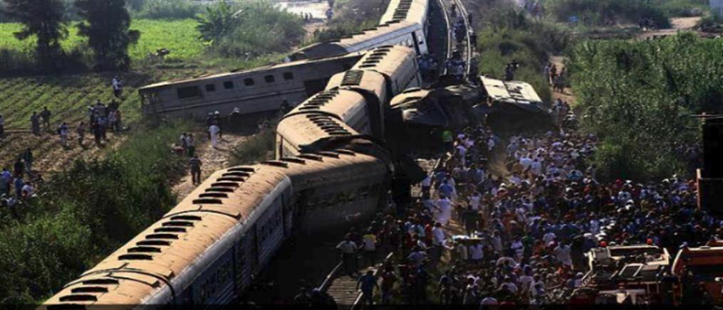 Πολύνεκρη σύγκρουση τρένων στην Αλεξάνδρεια της Αιγύπτου (βίντεο)