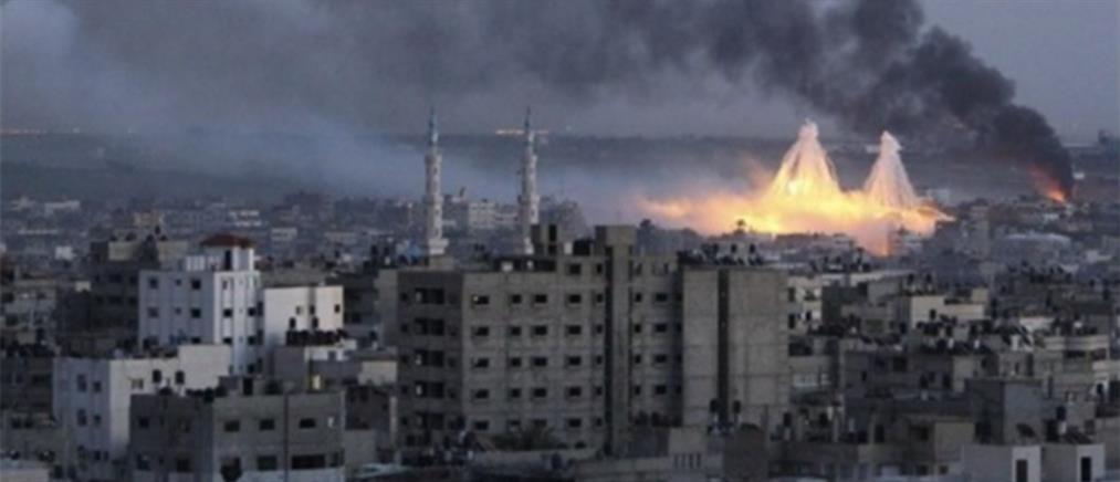 Λωρίδα της Γάζας: ισραηλινά αντίποινα για τις ρουκέτες από την Παλαιστίνη