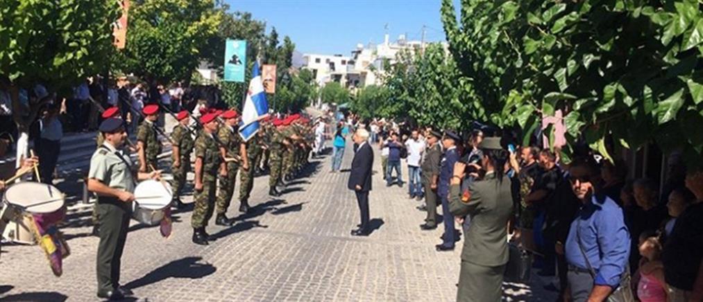 Παυλόπουλος: αν χρειαστεί θα υπερασπιστούμε αποτελεσματικά τα σύνορα μας