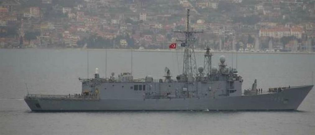 Τούρκοι παρενόχλησαν γερμανικό πλοίο στο Αιγαίο