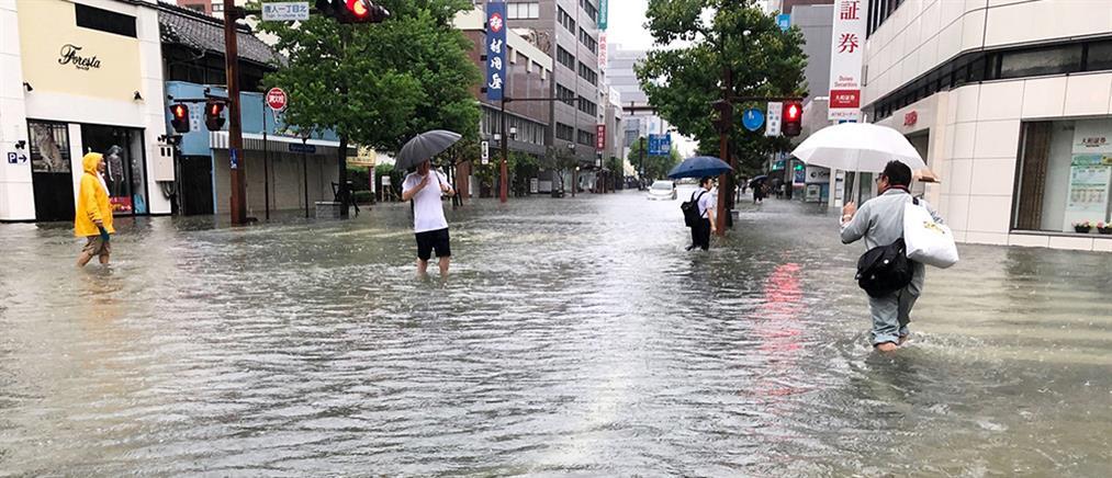 Φονικές καταιγίδες στην Ιαπωνία (βίντεο)