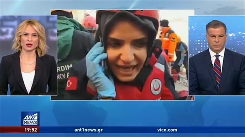 Αυξάνεται ο αριθμός των νεκρών από τον σεισμό στην Τουρκία