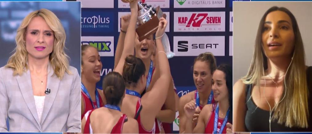 Ολυμπιακός - Ελευθεριάδου στον ΑΝΤ1: Η μόνη μας σκέψη ήταν να σηκώσουμε το Κύπελλο (βίντεο)