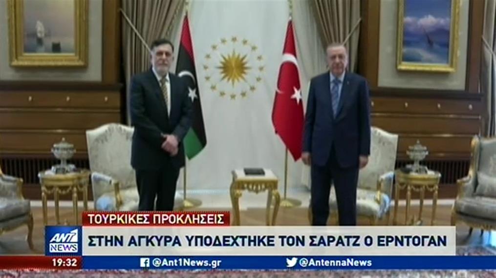 Η Τουρκία κλιμακώνει την ένταση σε Έβρο και Μεσόγειο