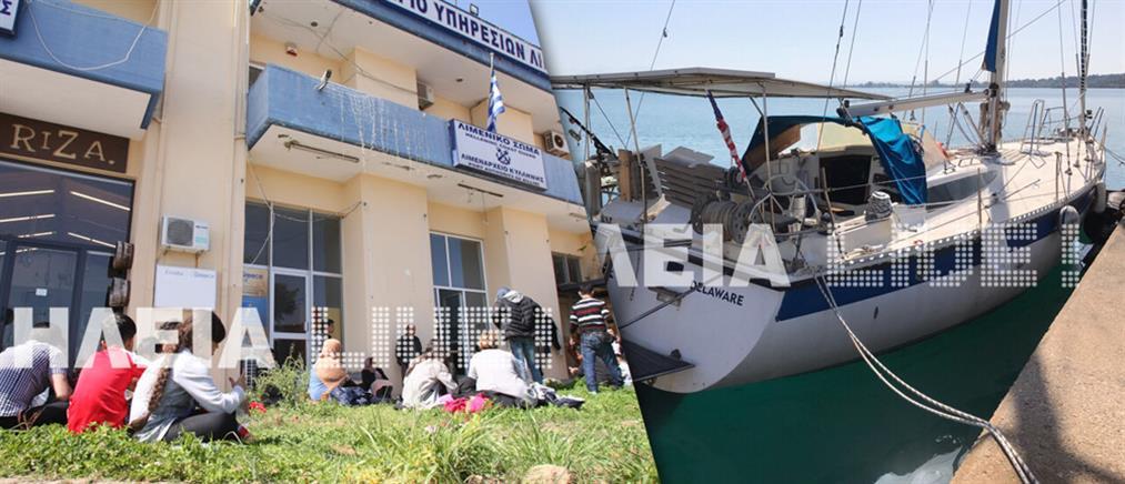 Δεκάδες παράτυποι μετανάστες βρέθηκαν στοιβαγμένοι σε ιστιοφόρο (εικόνες)