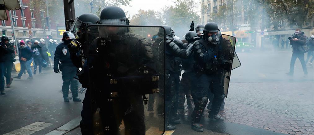 """""""Κίτρινα Γιλέκα"""": Επέτειος με διαδηλώσεις"""
