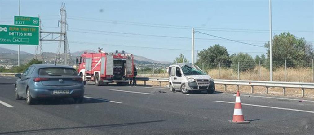 Αττική Οδός: Πέθανε η μία τραυματίας του τροχαίου