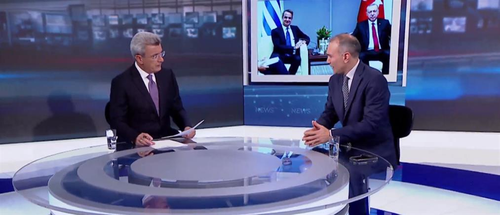 Φίλης στον ΑΝΤ1: προσπάθεια για επανεκκίνηση των ελληνοτουρκικών σχέσεων (βίντεο)