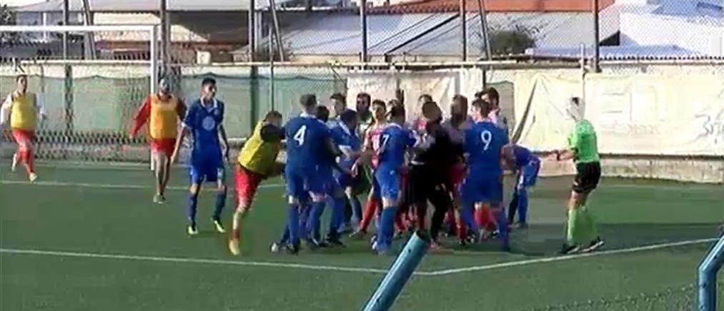 Κατς σε αγώνα… ποδοσφαίρου στην Κρήτη (βίντεο)