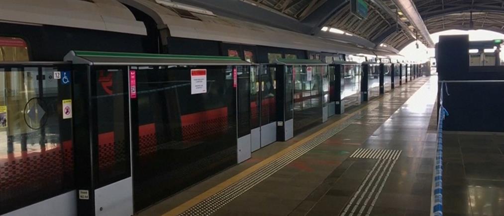 Σύγκρουση τρένων μέσα σε σιδηροδρομικό σταθμό (βίντεο)