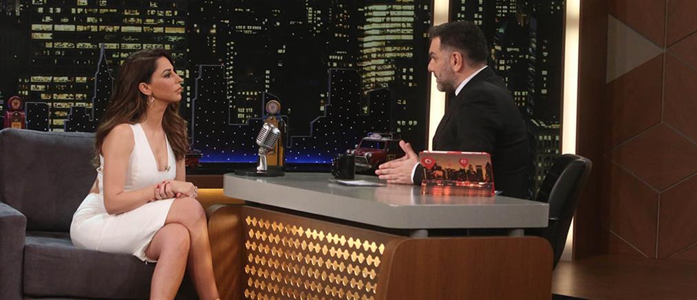 """Η κριτής του """"YFSF"""" Κατερίνα Παπουτσάκη στο """"Τhe 2night Show"""""""
