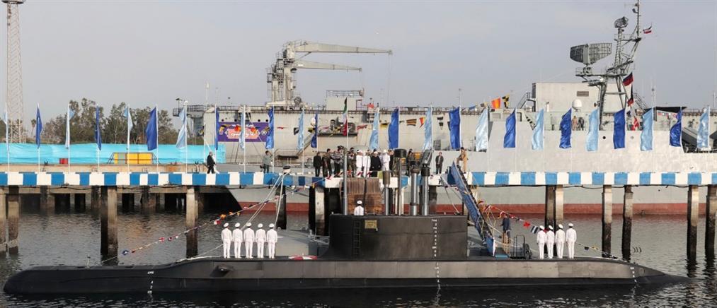 Αυτό είναι το νέο υπερυποβρύχιο του Ιράν (βίντεο)