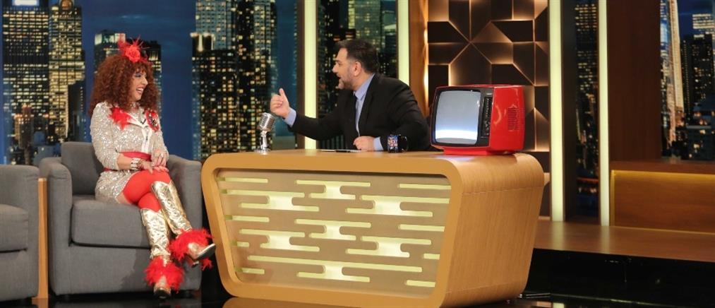 """Ματίνα Νικολάου: Η ανατρεπτική """"Βάνια Τουνίκου"""" αποκαλύπτεται  στο """"The 2Night Show"""" (βίντεο)"""