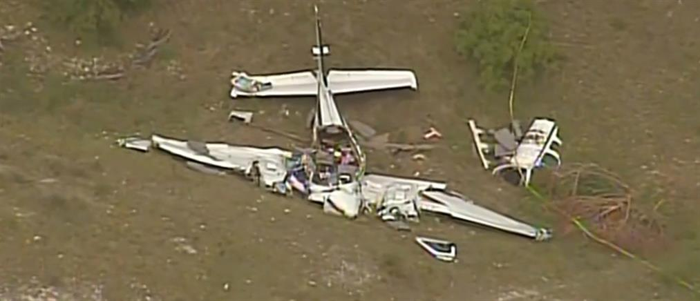 Νεκροί από πτώση αεροπλάνου (βίντεο)