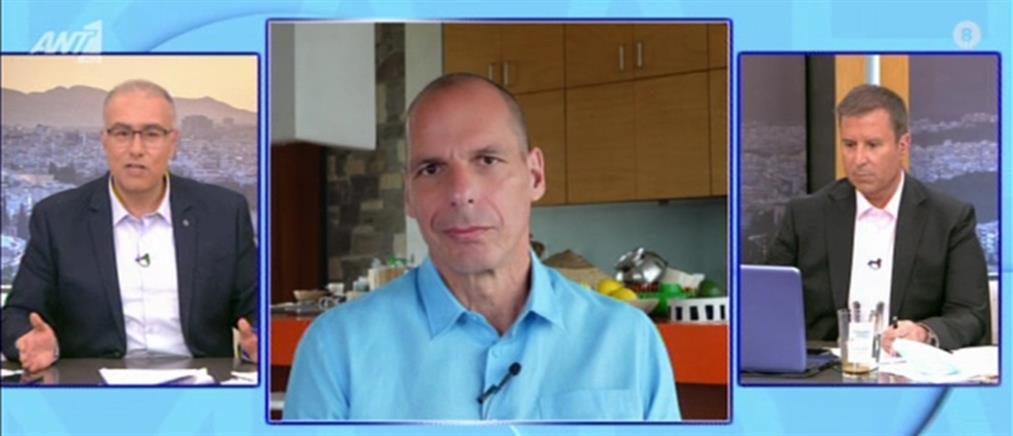Βαρουφάκης στον ΑΝΤ1: δεδομένο ότι θα έρθει νέο μνημόνιο (βίντεο)