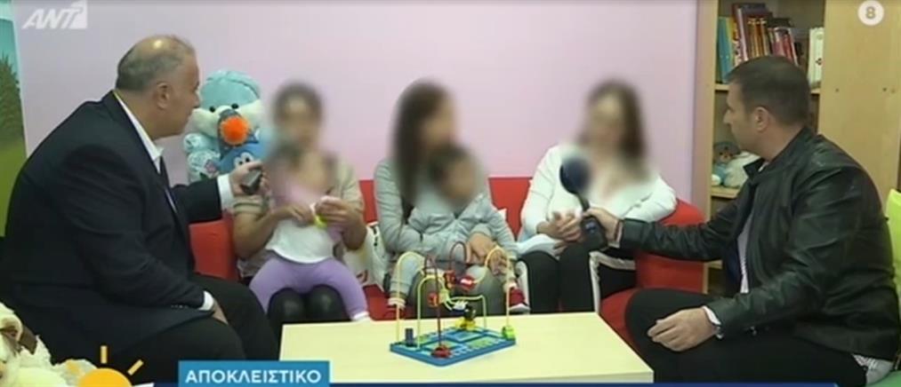 """Οι """"Πρωινοί Τύποι"""" κοντά στις φυλακισμένες μωρομάνες της Θήβας (βίντεο)"""