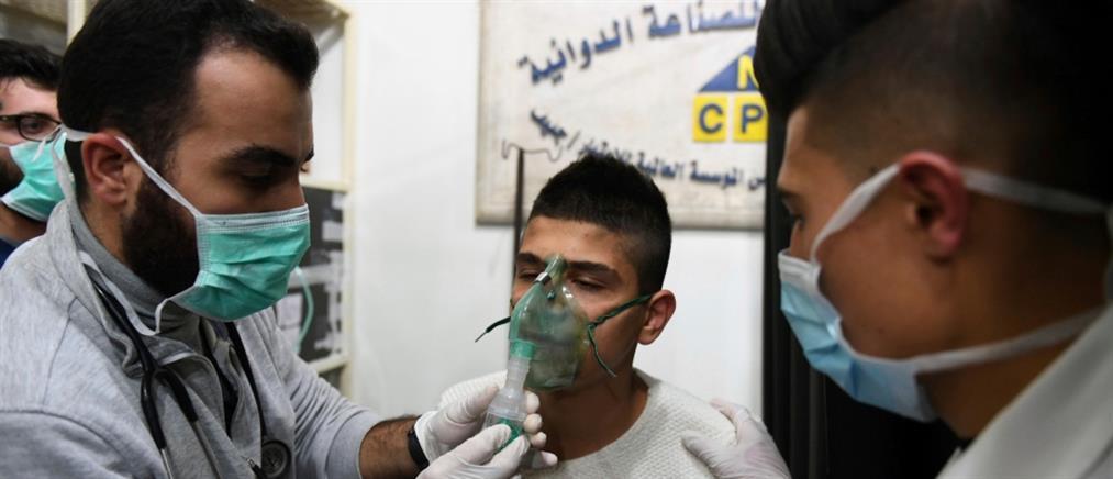Επίθεση με χημικά στο Χαλέπι (σκληρές εικόνες)