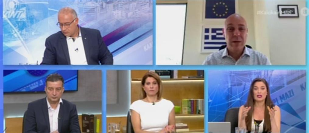 Αμυράς στον ΑΝΤ1 για κίνδυνο black out: οι πολίτες να δείξουν αυτοσυγκράτηση (βίντεο)