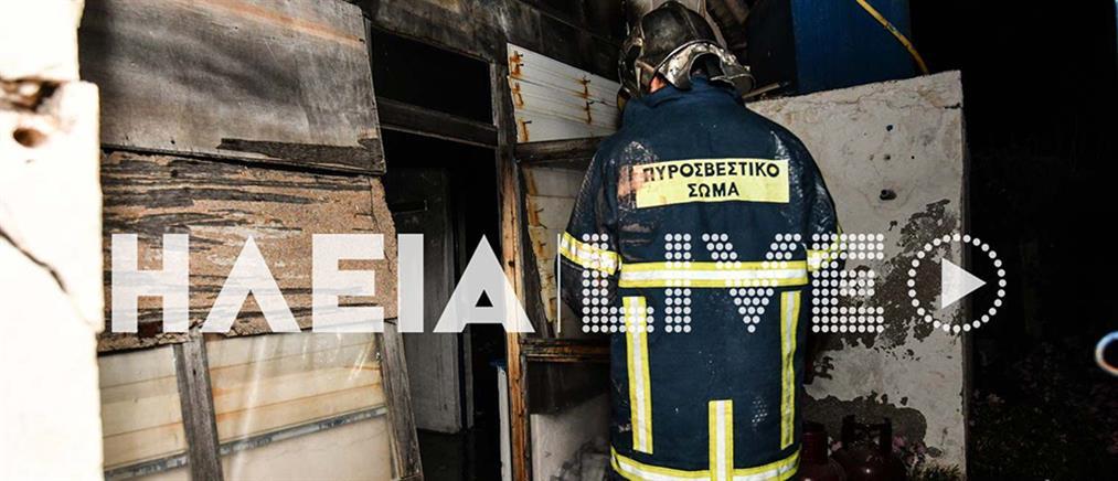 Τραγωδία: άνδρας βρέθηκε νεκρός από φωτιά στο σπίτι του