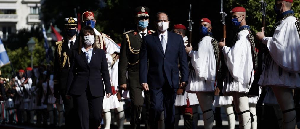 Αλ Σίσι: Η Αίγυπτος στο πλευρό της Ελλάδας για την ασφάλεια και τα θαλάσσια σύνορα