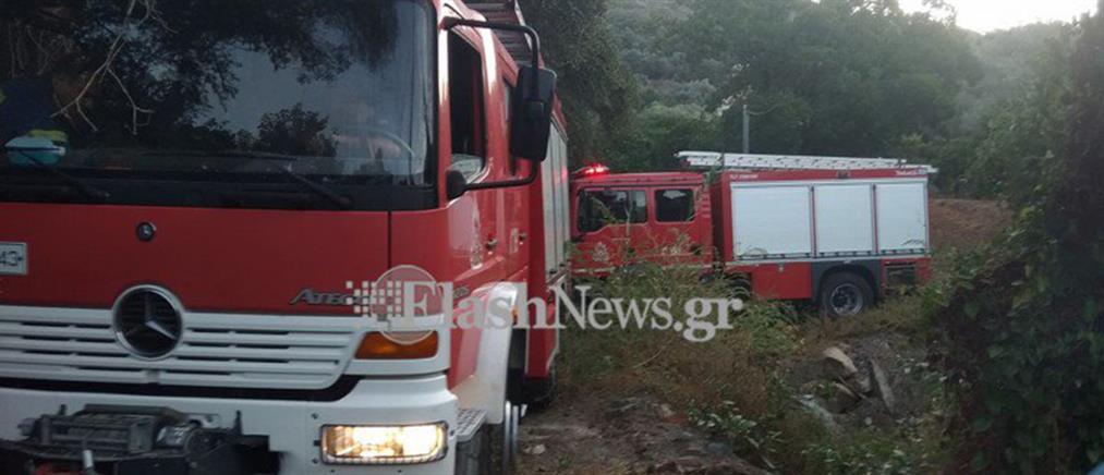 Οδηγός παρασύρθηκε από το αυτοκίνητό της (εικόνες)