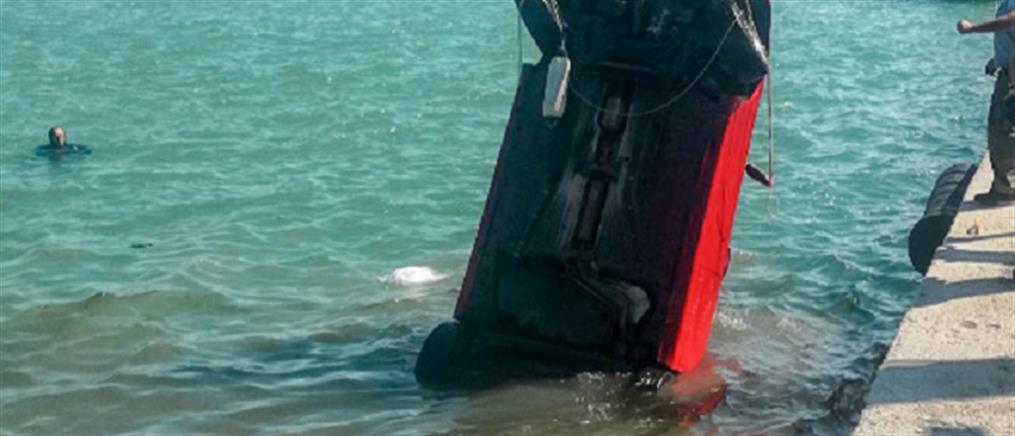 Λαύριο: αυτοκίνητο έπεσε στη θάλασσα
