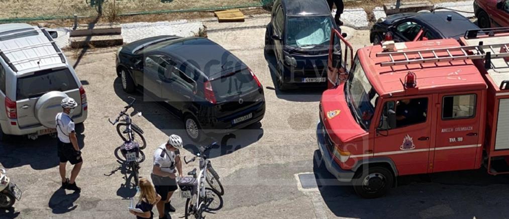 Τραγωδία στην Κέρκυρα: πτώση γυναίκας στο κενό (εικόνες)