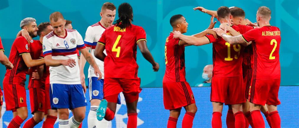 """EURO 2020: Το Βέλγιο δεν… """"ίδρωσε"""" με την Ρωσία"""