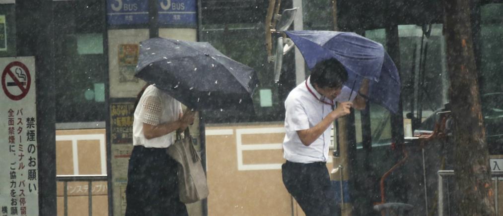 """Σε συναγερμό η Ιαπωνία για τον τυφώνα """"Τάπαχ"""""""