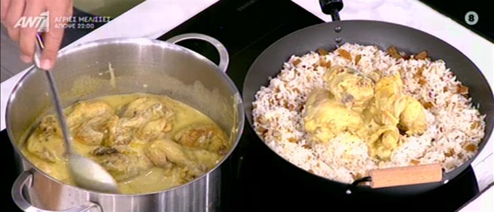 Συνταγή για κοτόπουλο με μουστάρδα και μέλι από τον Πέτρο Συρίγο