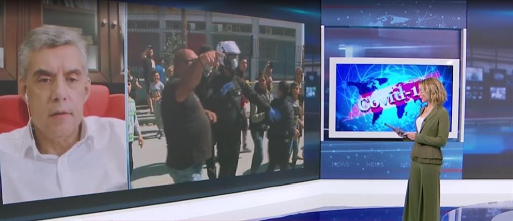 """Αγοραστός στον ΑΝΤ1: φοβάμαι """"κανιβαλισμό"""" μετά τα κρούσματα κορονοϊού σε Ρομά (βίντεο)"""