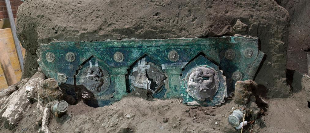 Πομπηία: Μοναδικό εύρημα έξω από αρχαία έπαυλη (εικόνες)