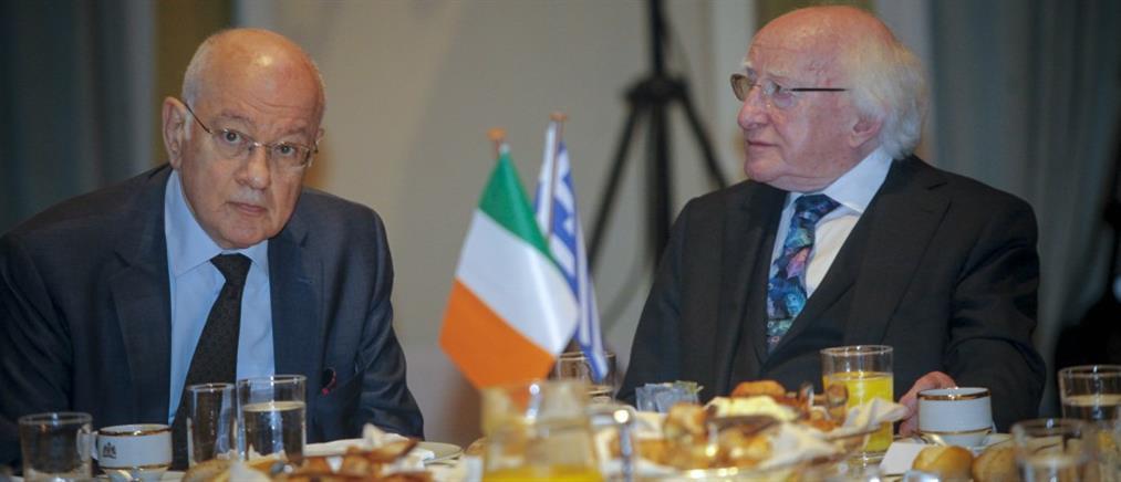 Παπαδημητρίου: ανάπτυξη των σχέσεων με την Ιρλανδία σε τομείς αμοιβαίου ενδιαφέροντος