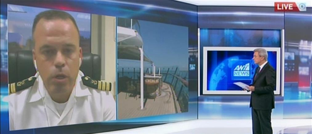 Κορονοϊός - Κοκκάλας στον ΑΝΤ1: Δεν θα αποβιβαστεί κανένας από το κρουαζιερόπλοιο (βίντεο)