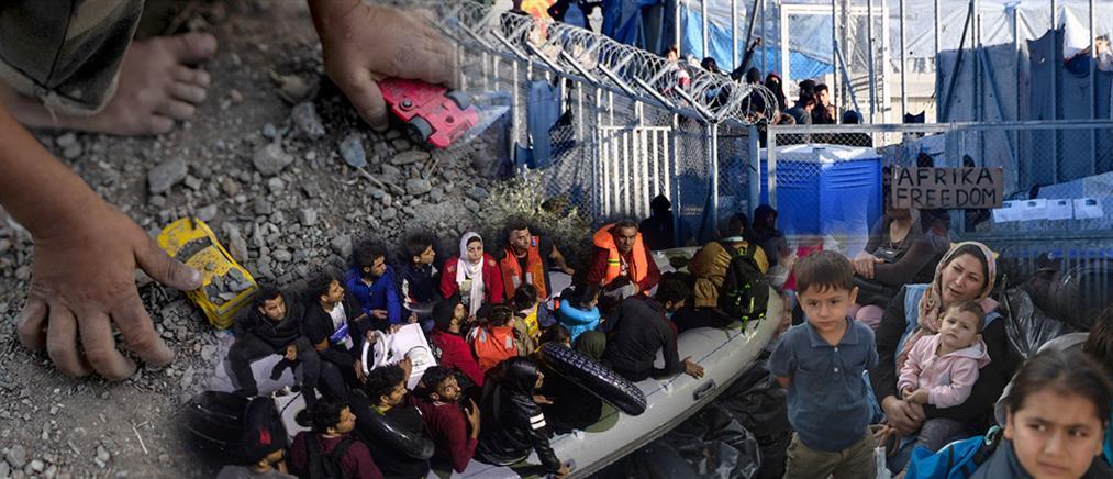 Εκτός δομών από σήμερα 10.000 πρόσφυγες και μετανάστες