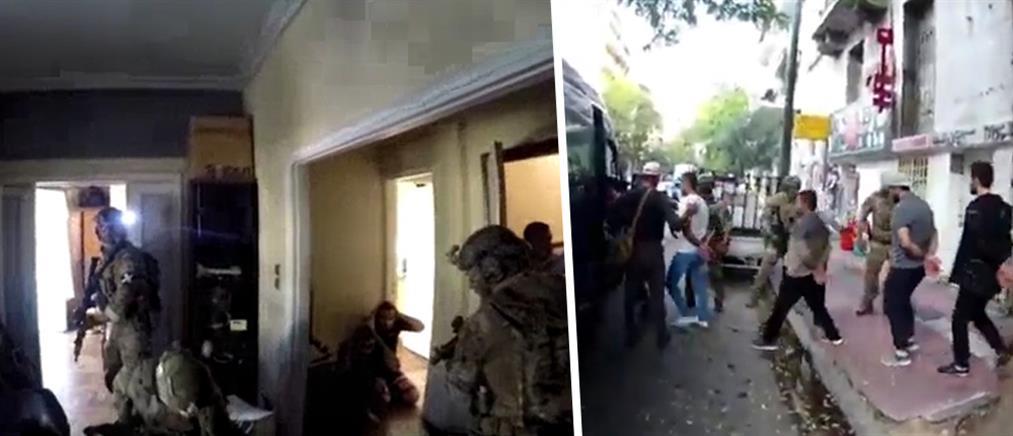 Έφοδοι κομάντος του Λιμενικού για εξάρθρωση σπείρας έκδοσης πλαστών διαβατηρίων (βίντεο)
