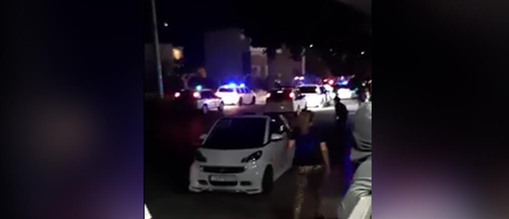 Επίθεση σε Αστυνομικούς που πήγαν να διαλύσουν γλέντι σε καταυλισμό στο Μενίδι (βίντεο)