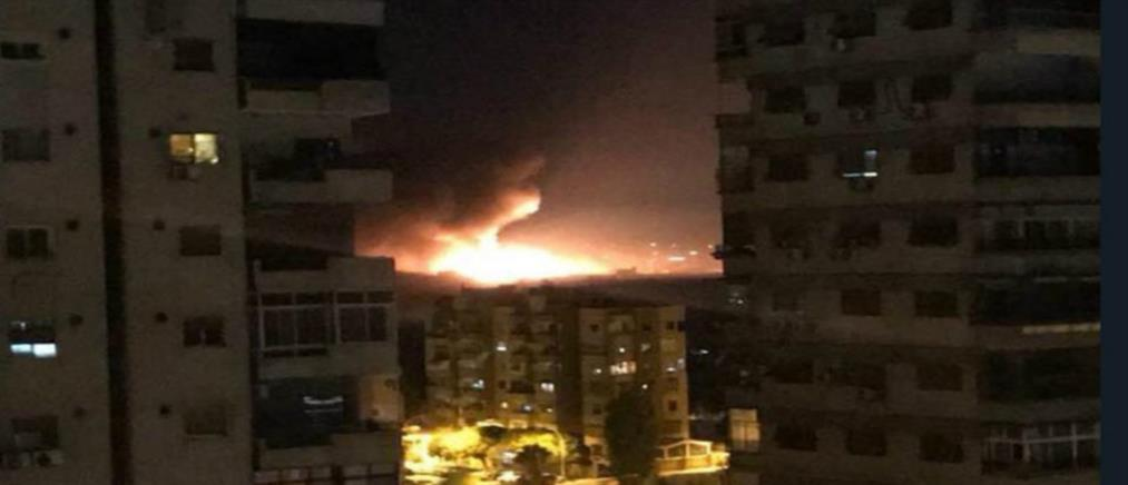 Εκρήξεις κοντά σε αεροπορική βάση της Δαμασκού